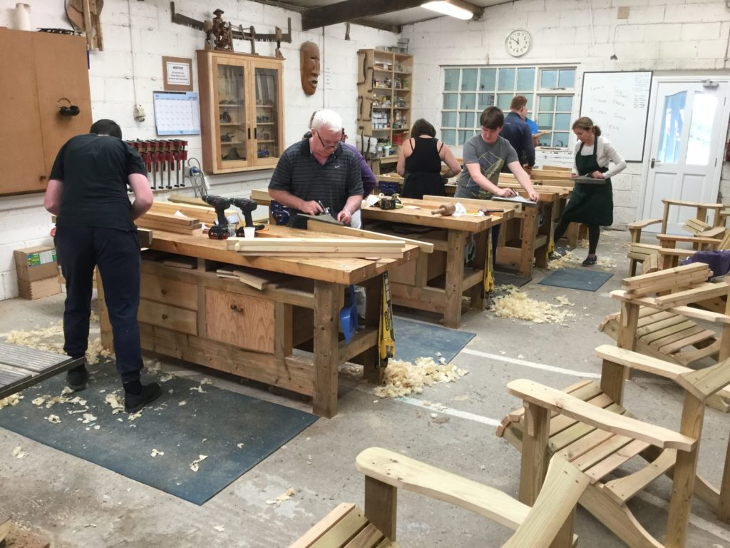 Bevel Woodworking School Visit Wexford