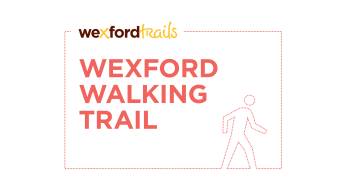 Wexord Walking Trail logo text and icon