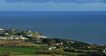 View form Tara Hill of the Irish Sea