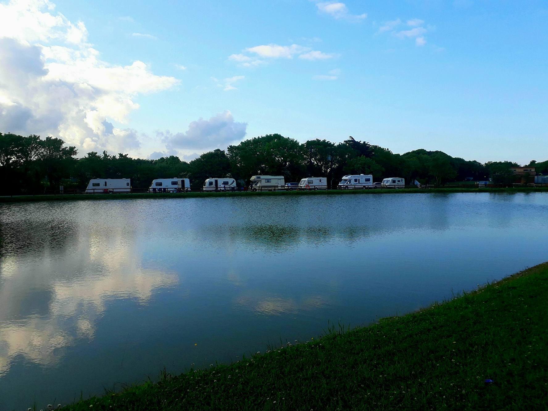 Camping at IOAC